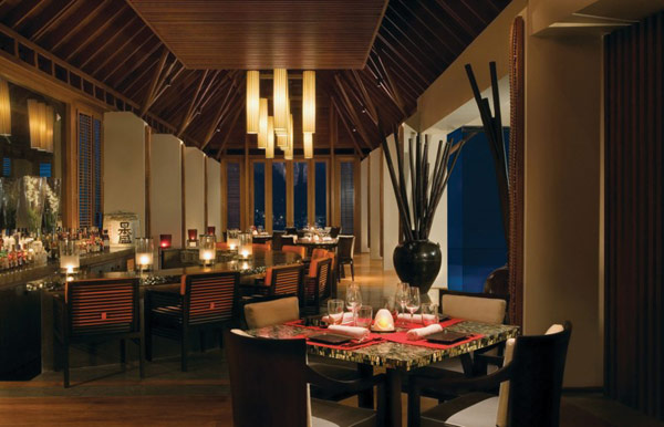 Five Stars Resorts In Maldives: Reethi Rah: 5 Stars Resort In Maldives Reethi Rah Tapasake Restaurant Interior Design Ideas