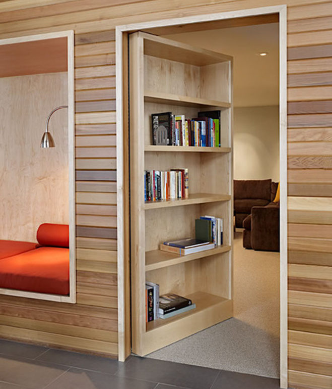 All Kind Of Most Creative Bookshelf Design Ideas : Inspiring Door Bookshelves Design Ideas Open