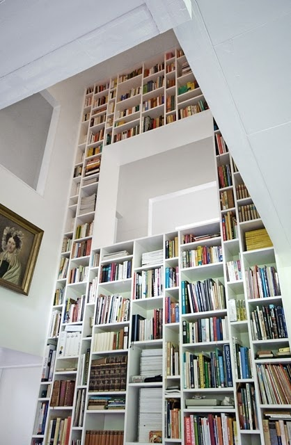 Miscellaneous High End Bookshelves Design: Inspiring Small Space Built In High End Bookshelf Ideas