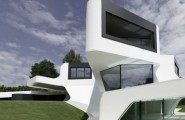 Prospective House Designs For Large Families In Urban Dwellings : A Contemporary Luxury Prospective Home Design Expresses Sensitive Architectural Approach To Build A Future House Model 1
