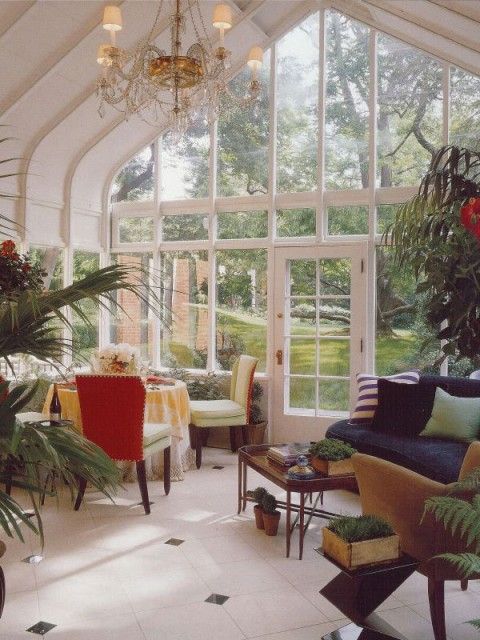 Breathtaking Furniture Room Layout And Accent Pieces Sunroom Design Ideas: A Sunroom That Brings Outdoors In And Show Natural Elements Bringing In Beautiful Natural Light And The Glory Of Green Garden With Living Room Decoration