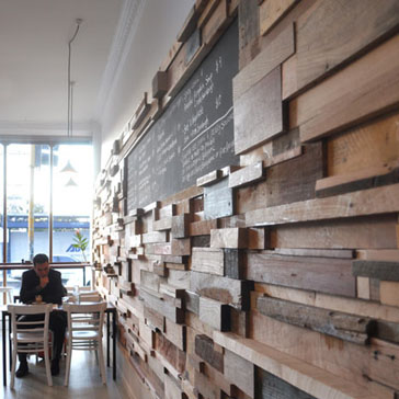 Interior Design: Awesome Reclaimed Wood Wall Design Ideas ...