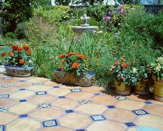 Amazing Various Outdoor Patio Floor Tiles Designs: Amazing Mediterranean Outdoor Patio Floor Tiles ~ stevenwardhair.com Design & Decorating Inspiration