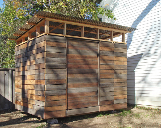 Let's Try To Building A Tool Shed: Amazing Modern Garage And Reclaimed Wood For A Storage Tool Shed