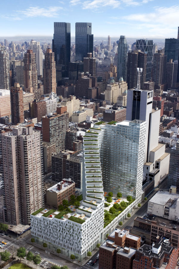 Amazing Rooftop Gardening Idea In New York City: Amazing Rooftop Garden In NY City Mercedes House 1