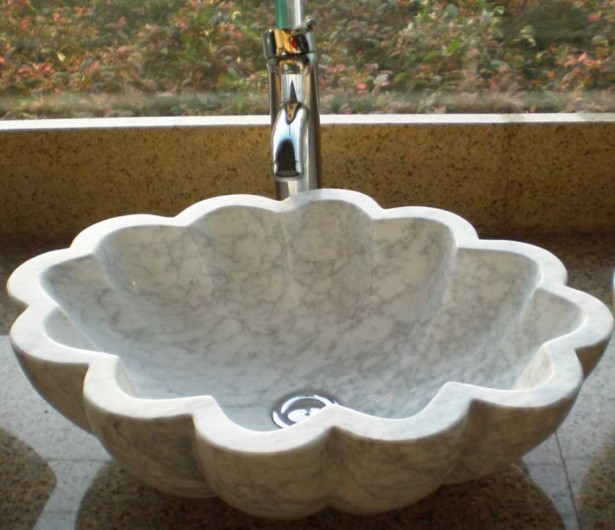 Outstanding Stone Sink Shaped Designs For Modern House: Amazing Stone Sink Design For Their Bathroom And Kitchen Sell Granite Sink Faucet Bowl Lavabo Marble Stone Sink Design ~ stevenwardhair.com Tips & Ideas Inspiration