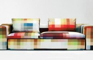 All Kind Of Most Creative And Unique Sofa Design : Amazing Wide Spectrum Of Fabric Color Of Most Creative Contemporary Pixel Sofa Design