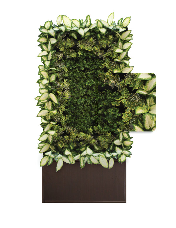 Indoor Plant Decoration Ideas: An Art Piece That Can Be Customized Into Various Textures And Colors Quarterly April Folden One Ideas