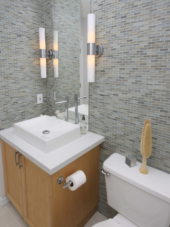 Beautiful Mosaic Ideas For Bathrooms: Appealing Contemporary Bathroom Mosaic Ideas For Bathrooms Reflections Glass Mosaic Subway Nice Bathroom Tile Small