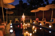 Amazing Party Decorations Pictures : Asian Pool Great Party Decoration For Deck And Poolside Decoration During Evening