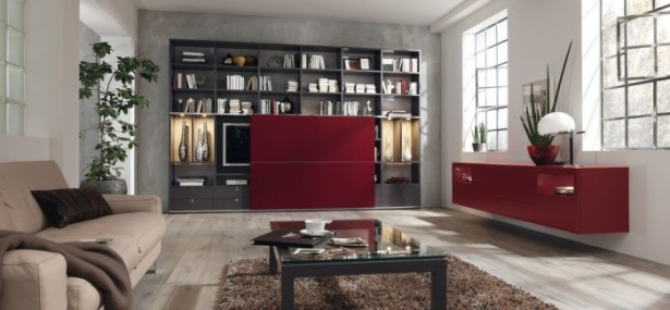 Great Design For Modern Living Room Furniture Ideas: Astonishing Design For Modern Living Room Furniture Ideas Modern Style Modular Wall Units Built In Mounter Cabinet Brown Sofa Bookshelf  ~ stevenwardhair.com Contemporary Home Design Inspiration