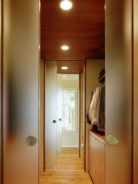 Very Cool Etched Glass French Doors: Astonishing Modern Closet Etched Glass French Doors Wooden Ceiling And Double Sliding Doors Closet Walk In Joined To Bathroom Smoke Glass Doors To Use For Closet Door Entries