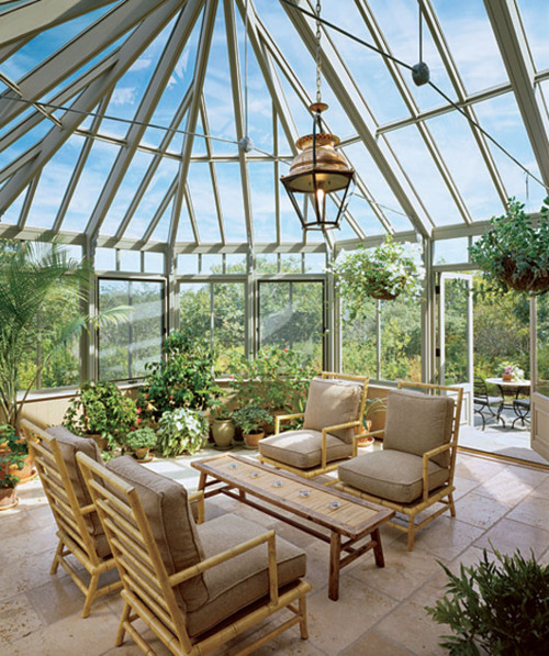 Perfect Sunroom Design Ideas To Relax While Enjoying A View: Awesome Natural Energies With Perfect Furniture Room Layout And Accent Pieces And Bringing In Beautiful Natural Light With Sunroom As An Indoor Garden
