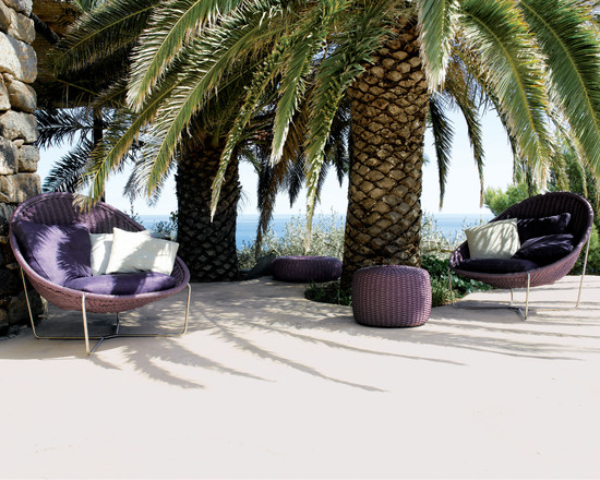 Comfortable Pappasan Chairs : Beach Style Patio With Papasan Chairs Or Bowl Chairs Perfect For Both Indoor And Outdoor Use