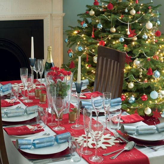 Beautiful Christmas Tree Decorating Ideas : Beautiful Christmas Tree Decorations Table Diner Set