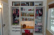 Build Your Desk In A Closet : Beautiful Desk In Closet Ideas For Kids