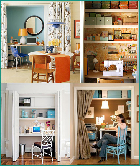 Build Your Desk In A Closet: Beautiful Desk In Closet Ideas Pictures