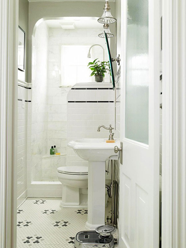 Small Bathroom Design Ideas : Beautiful Small Bathroom Design Shower Area  Toilet Bowl .