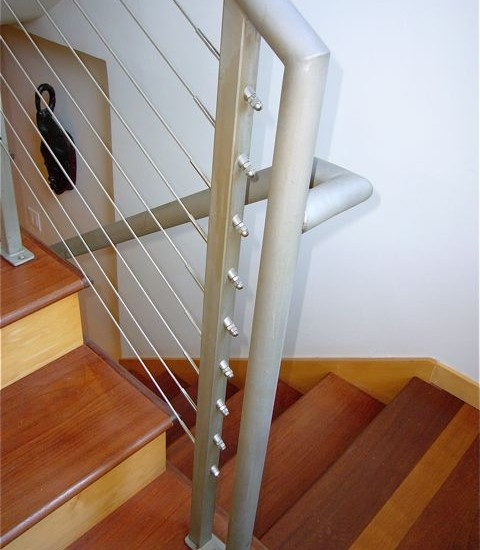 Beautiful Brazilian Cherry Stairs : Brazilian Cherry Stair Treads Relate  Match The New Brazilian Cherry Floors