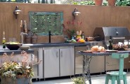 Awesome Outdoor Kitchen Designs That Will Make Your Patio Stylish And Inviting : Breathtaking Casual Outdoor Stylish And Inviting Kitchen Designs Ideas With Deroration That Designed To Help Make Your Life Easier And More Enjoyable