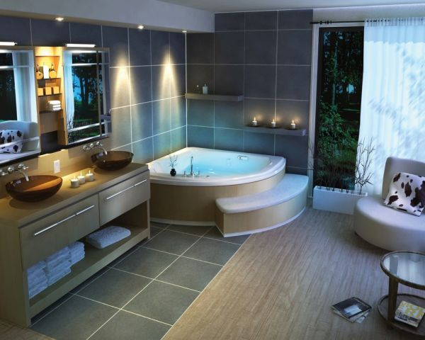 Breathtaking Bathroom Design Ideas You'll Love : Breathtaking Design Of Bathroom Ideas Spa Bath Traditional Room Decoration And Also Minimalist Furniture Creation