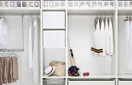 Modern Classic Design Closet For Your Storage Need : Breathtaking Modern Classic Design Closet For Your Storage Need With White Closet Shoes Shelves Walk In Closet