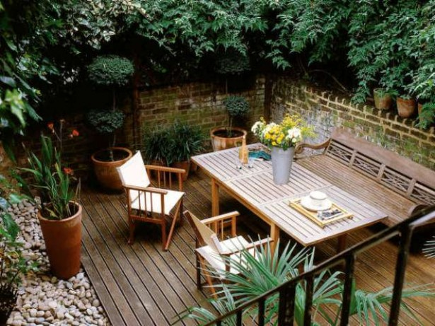 Motivational Pictures To Inspire You To Design Your Home Deck: Bright Outdoor Deck Design With Overlooking A Large Remarkable Outdoor Dining Table Green Plant Decor ~ stevenwardhair.com Chairs Inspiration