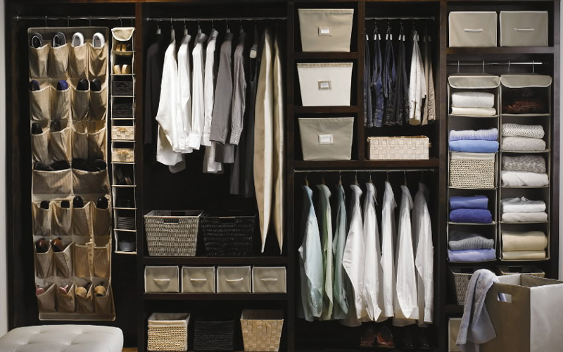 Perfect Closet Ideas To Storage Your Stuff Perfectly: Brilliant Perfect Closet Ideas To Storage Your Stuff Modern Style Dark Wooden Elegant Wardrobe Closet Ideas