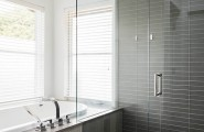 All Kind Pictures Of Best Tile For A Shower : Captivating Contemporary Bathroom Best Tile For A Shower Like The Simple Tile No Accent Strips For Medium Or Dark Gray Wall And Floor Tiles Try Selecting Tiles Of Different Sizes Shapes And Shades