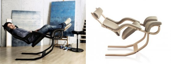 The Most Comfortable Lounge Chairs In The World: Classic Model Gravity Chair Design