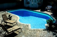 Combination Materials And Layouts To Design Pool Deck : Combination Of Many Factors Building A Pool Deck Including Materials And Layouts With Outdoor Furniture