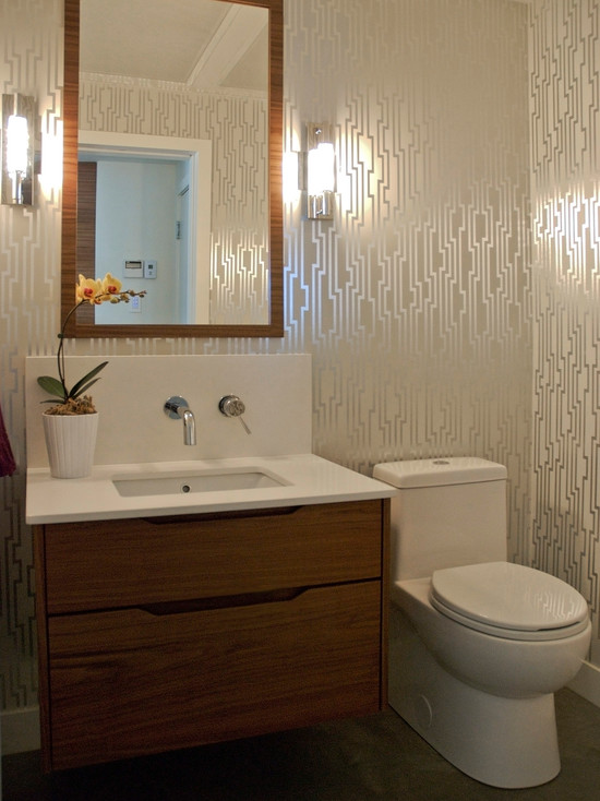 Beautiful Candice Olson Bathroom Designs : Contemporary Bathroom Candice Olson Shimmering Details Wall Vinyl