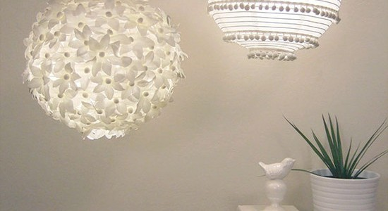 How To Make Paper Lanterns For Kids : Contemporary Family Room With Embellish A Simple Paper Lantern With Pom Poms Or Other Trim For A Chic Romantic Look