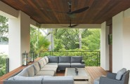 Cool Ceiling Fans With Lights : Contemporary Porch Nice Seating And Fans Good Idea Cool Ceiling Fans