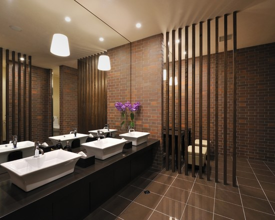 Design Decorating Contemporary Sendai Bathroom With