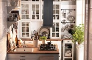 A Properly Designed Small Kitchen With Minimal Cutter And Maximum Efficiency : Cool A Properly Designed Small Kitchen With Minimal Clutter And Maximum Efficiency