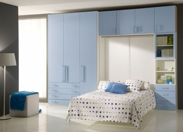 Cool Bedrooms For Teens : Cool Bedroom For Teens 25 Folding Bed Bookshelves Arch Lamp Closet Quilt Tile Flooring Ideas Giessegi