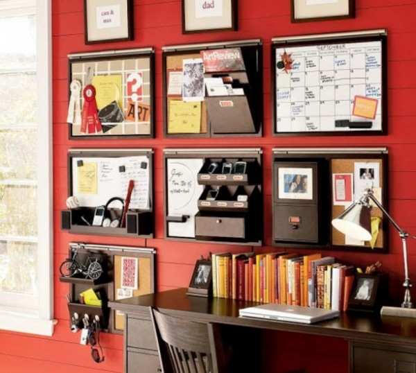 Office Space Organizing Is One Of The Keys To A Successful Business : Cool Inspiring Home Office Space Organize Ideas