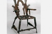 Cool Men's Furniture Design : Cool Mens Furniture Design Throne Of Weapons Gun Chair Most Creative Chair Design