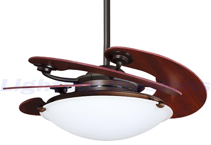 Innovative Ceiling Fan Ideas: Retractable Blade Ceiling Fans Design: Cool Retractable Blade Ceiling Fan With Light Design