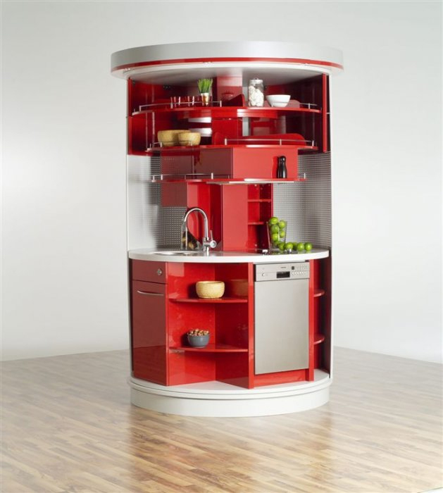 Unique Whimsical Pantry For Creating The Right Image For Your House: Corner Unit Pantry Chic Red White And Grey Sink Shelves Round Model Floor To Ceiling Built In Stylist Organized Storage Idea