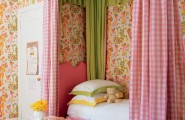 Pink and green girls bedroom ideas : Country Club Chic Room For A Little Girl