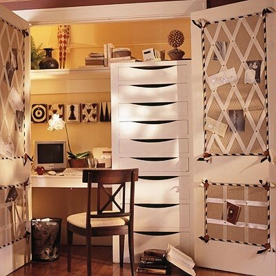 Build Your Desk In A Closet : Cozy Desk In Closet Ideas Inspiring Chest Of Drawer Table Shelf Chair Lamp Lighting Door Wood Floor Ideas
