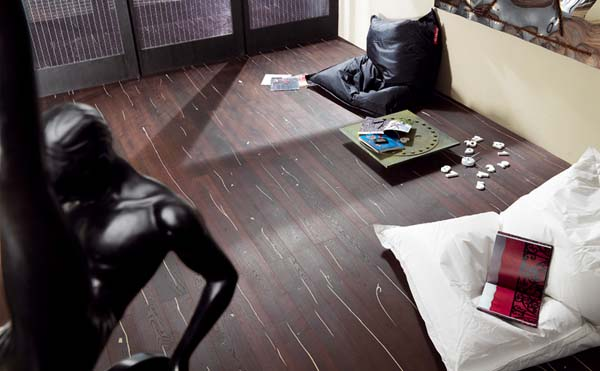Inspiring Flooring Design Ideas : Cozy Natural Wooden Flooring Design Ideas