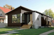 Cozy Small Sustainable Contemporary Prefab Homes : Cozy Small Sustainable Contemporary Prefab Home By HIVE Modular Architecture Exterior Design