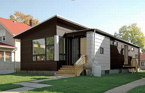 Cozy Small Sustainable Contemporary Prefab Homes: Cozy Small Sustainable Contemporary Prefab Home By HIVE Modular Architecture Exterior Design