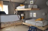 Furniture Ideas For Small Bedroom Design : Creative Simple Wall Mounted Wooden Adult Loft Beds Design Ideas For Small Bedroom Design