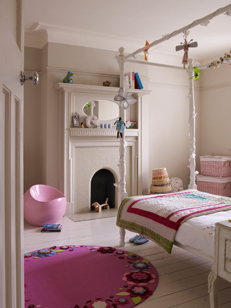 Pink and green girls bedroom ideas : Cute Fun And Modern Girl Bedroom