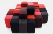 All Kind Of Most Creative And Unique Sofa Design : Do Lo Rez Is Most Creative Sofa Design That Composed Of Several Soft Square Based Cube Or Rectangular Shaped Units Of Various Heights