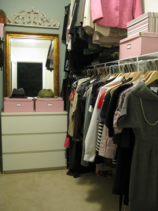 Cozy Small Dresser With Mirror : Eclectic Chest And Mirror At End Of Closet With Dresser And Mirror For Makeup